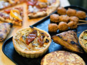muffin salgado proteico